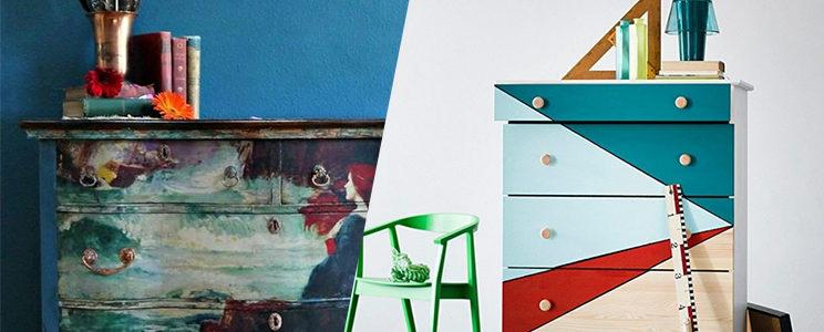 Personnalisation artistique des meubles